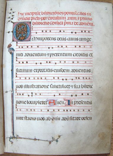 Russell Library manuscript