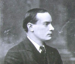 Portrait of Patrick Pearse. Image from Wikimedia Commons