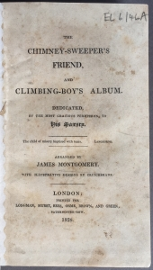 Image from 'The Chimney-sweeper's friend, and Climbing-boy's album' by James Montgomery