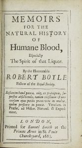 Boyle blood