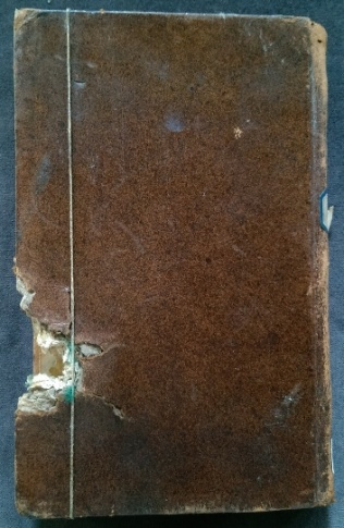 Back cover with damage