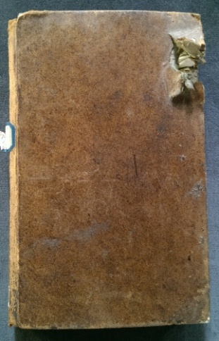Front cover with damage