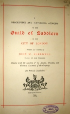 title page Guild of Saddlers