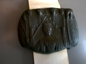 Detail of the wax seal