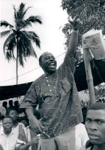 Photograph of Ken Saro-Wiwa