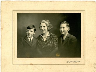 Portrait of the Forristal Family, c. 1940s