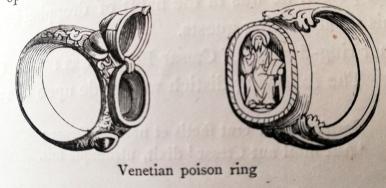 venetian pison ring